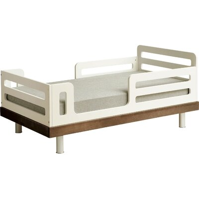 Classic Convertible Toddler Bed Finish: Walnut