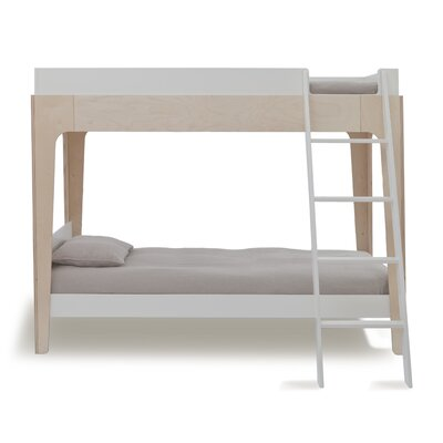 Perch Twin Bunk Bed Finish: Birch