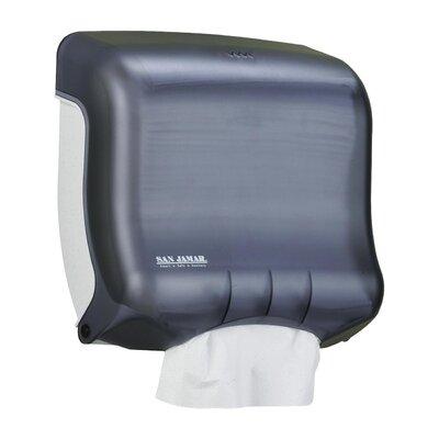 C-Fold Towel Dispenser, 11-1/2x6x11-1/2, Black/Pearl