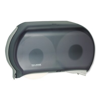 Twin Jumbo Toilet Tissue Dispenser in Black Pearl