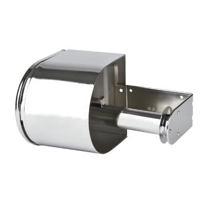 Covered Reserve Roll Toilet Tissue Dispenser in Chrome