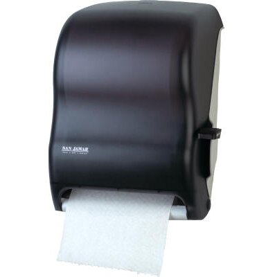 Lever Roll Towel Dispenser without Transfer Mechanism in Black