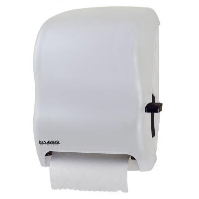 Lever Roll Towel Dispenser without Transfer Mechanism in White