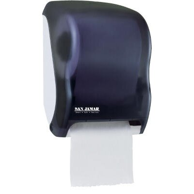 Electronic Touchless Roll Towel Dispenser in Black