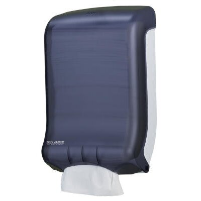 Classic Large Capacity Ultrafold Towel Dispenser in Black Pearl