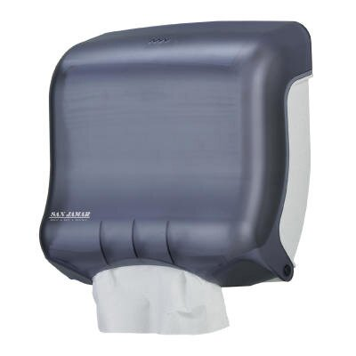 Classic Mini C-Fold and Multifold Towel Dispenser in Black Pearl