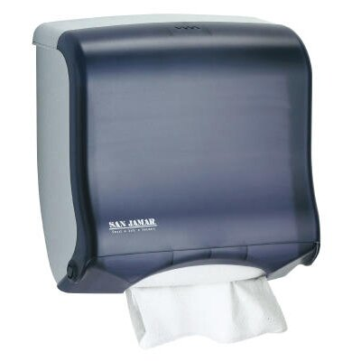 Ultrafold Fusion C-Fold and Multifold Towel Dispenser in Black