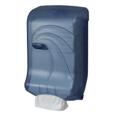 Large Capacity Ultrafold Multi /C-Fold Towel Dispenser in Blue