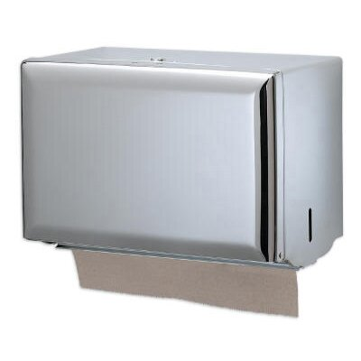 Standard Key-Lock Single fold Towel Dispenser in Chrome