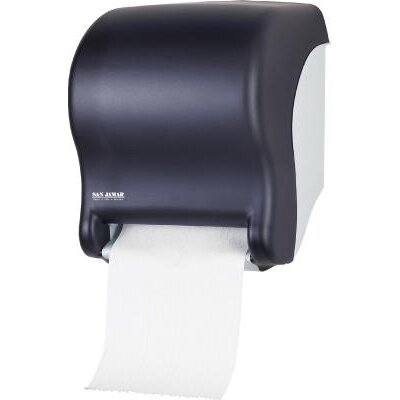 Tear-N-Dry Essence Touchless Towel Dispenser in Black Pearl