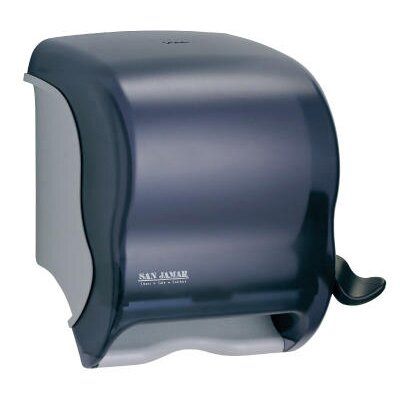 Element Lever Roll Towel Dispenser in Black