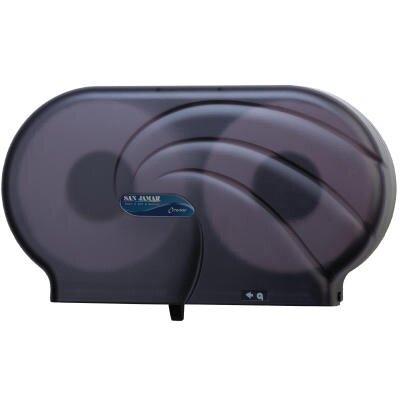 Oceans Twin JBT Toilet Tissue Dispenser in Black Pearl