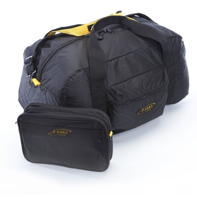 A.saks Folding Carry-on Duffel With Pouch Size: 22""