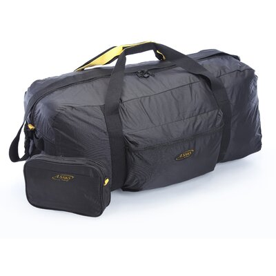 A.saks Folding Carry-on Duffel With Pouch Size: 36""