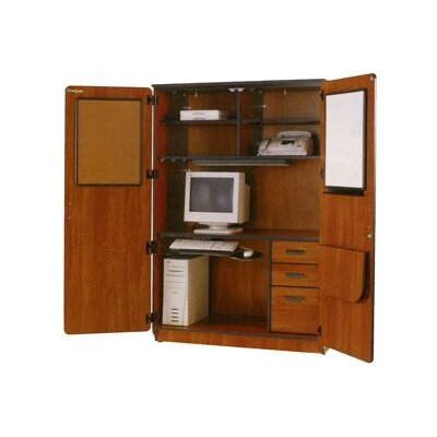 Illusions Armoire Desk with Locking Doors Product Picture 608