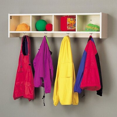 Fleetwood Koala-Tee Coat Rack with Cubbies - Color: Country Maple at Sears.com