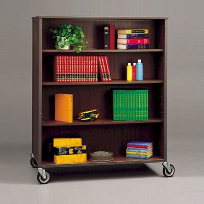 Double Sided 60 Bookcase Color/Trim: Almond/Gray Product Picture 67