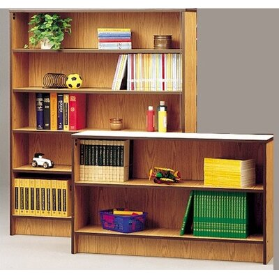 72 Bookcase Size: 72 H x 36 W x 22 D, Color/Trim: Thyme Fiber/Black Product Picture 67