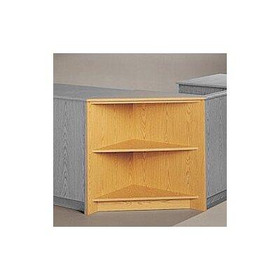 buy low price fleetwood library modular front desk system. Black Bedroom Furniture Sets. Home Design Ideas