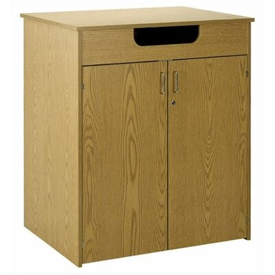 Library 2 Door Storage Cabinet Color/Trim: Oiled Cherry/Oiled Cherry Product Image 860