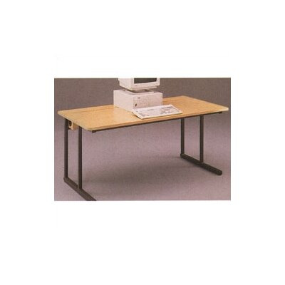 C-Leg Wide Training Table with Flip Top Wire Management Product Image 4772