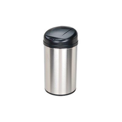 nine stars 105 gallon motion sensor stainless steel trash can