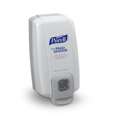 NXT Instant Hand Sanitizer Dispenser in White / Gray