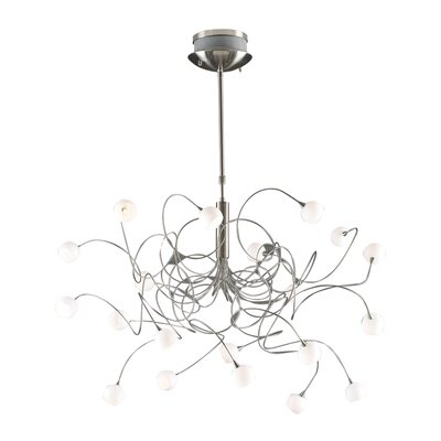 Fusion 20-Light Cascade Pendant