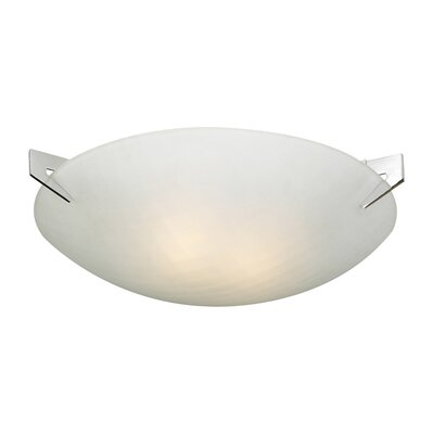 Contempo Flush Mount Size: 3.25 H x 13 W