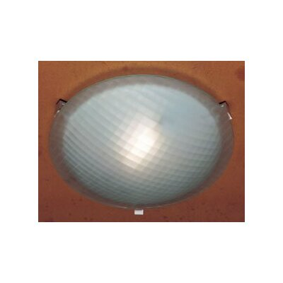 Valencia 12  Flush Mount Finish / Size / Bulb Type: White / 3.5 H x 12 W / J118mm