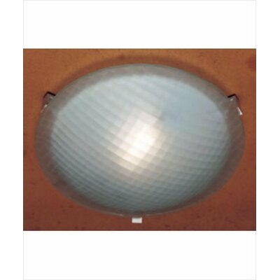Nuova 1-Light Flush Mount Finish / Size / Bulb Type: Rust / 4.5 H x 20 W / J118mm