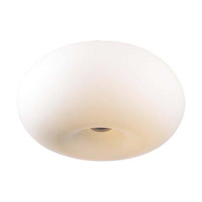 Tessera Semi Flush Mount Size: 8.5 H x 15 W