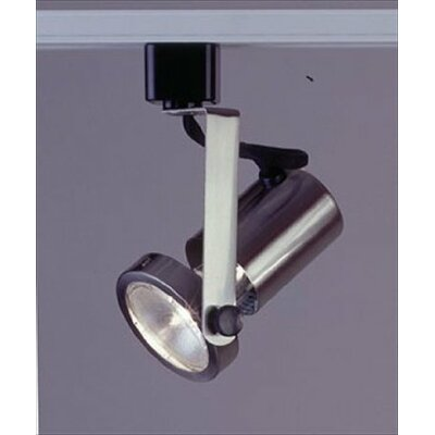 Gimbal 1 Light Track Light Finish: Satin Nickel