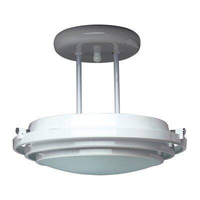 Cascade Semi Flush Mount Finish / Size: Polished Brass / 12.5