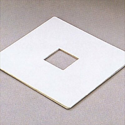 Outlet Box Cover (Set of 2) Finish: White