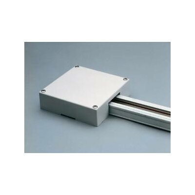 T Bar End Feed Box Finish: White