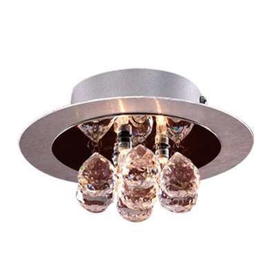 Bolero 3-Light Semi Flush Mount