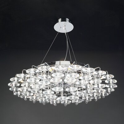 Diamenete 18-Light Kitchen Island Pendant