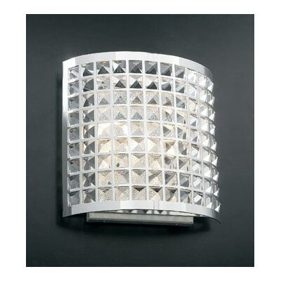 "PLC Lighting Jewel 2 Light Wall Sconce - Size: 12"" H x 12"" W x 4.5"" D at Sears.com"