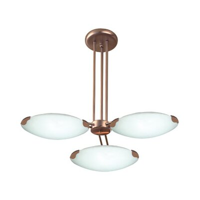 Concord 3-Light Pendant Finish: White