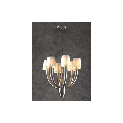 Sahara 6-Light Shaded Chandelier