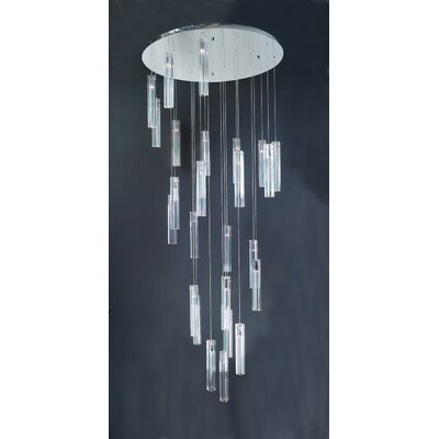 Segretto 25-Light Cascade Pendant