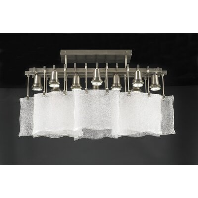 Carilon 10-Light Semi Flush Mount