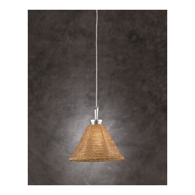 Belmondo 1-Light Mini Pendant Shade Color: Gold
