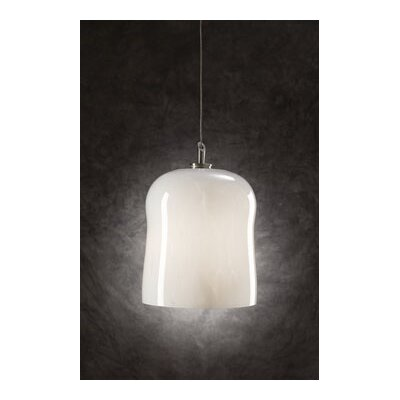 Fuzio 1-Light Mini Pendant Shade Color: White