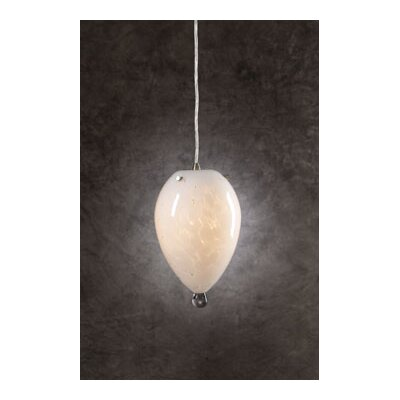 Cibella 1-Light Mini Pendant Shade Color: White