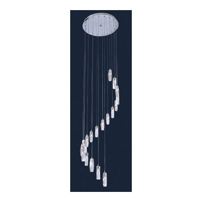 Pila 18-Light Cascade Pendant