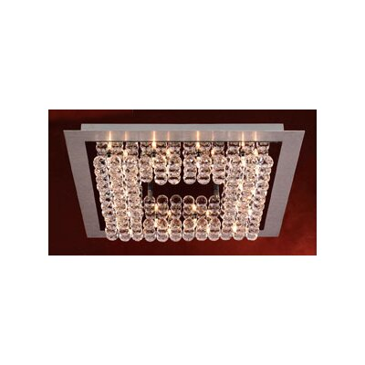Petula 24-Light Semi Flush Mount