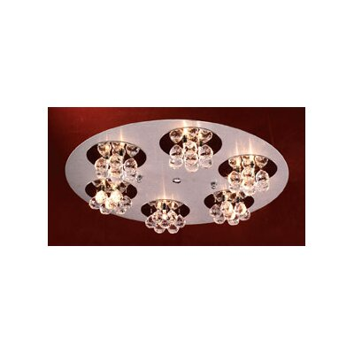 Bolero 18-Light Semi Flush Mount