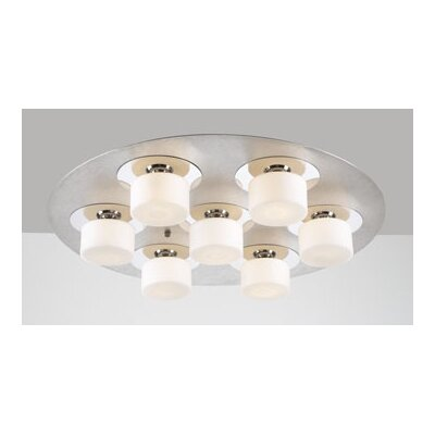 Natalie 7-Light Semi Flush Mount